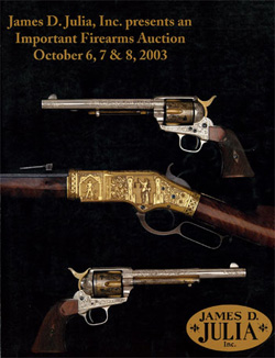 Outstanding Fall Firearms Auction <br> A Fabulous Success at
