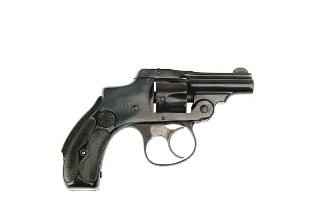 SMITH & WESSON 32 SAFETY HAMMERLESS 2ND MODEL BICYCLE REVOLVER