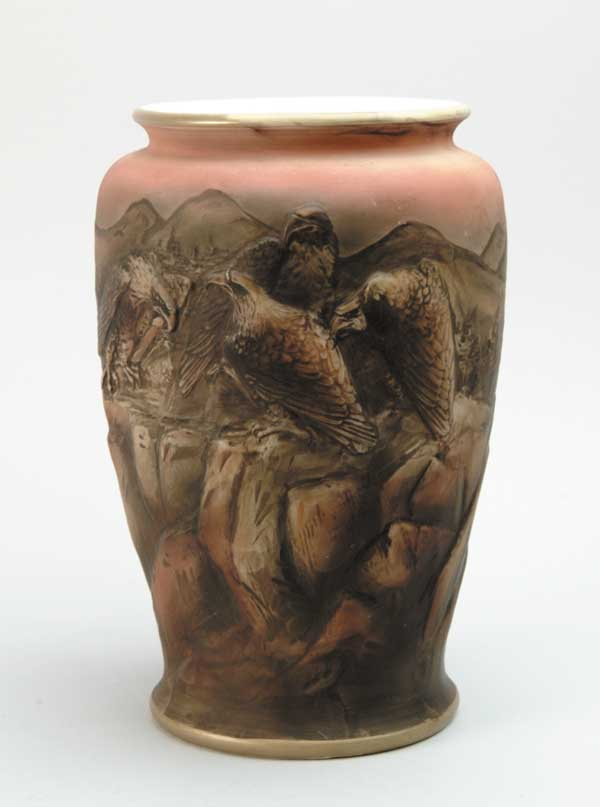 Blown Out Nippon Vase