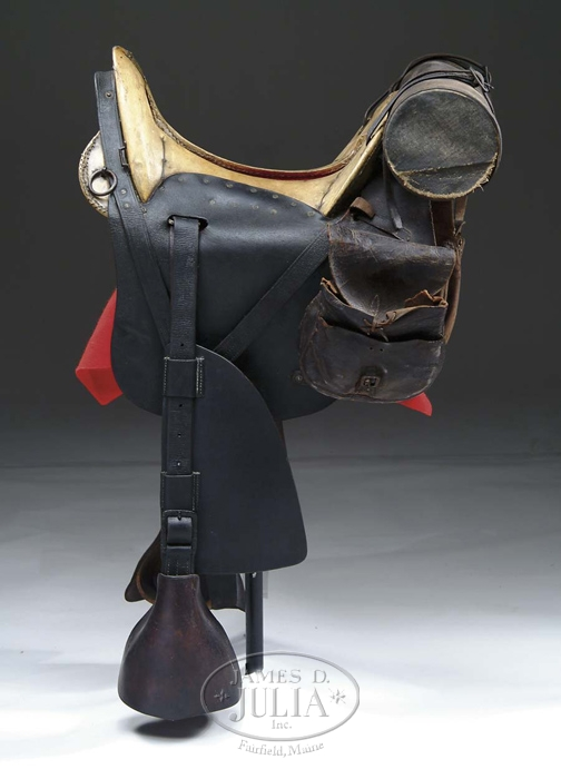 US MODEL 1859 MCCLELLAN SADDLE MADE AT THE ALLEGHENY ARSENAL