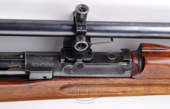 EXTREMELY RARE SPRINGFIELD MODEL 1903 WITH ULTRA-RARE OFFSET