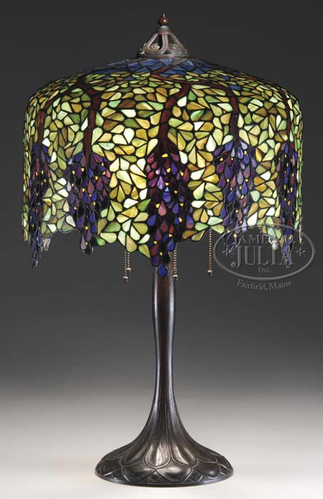 Handel wisteria table lamp aloadofball Choice Image