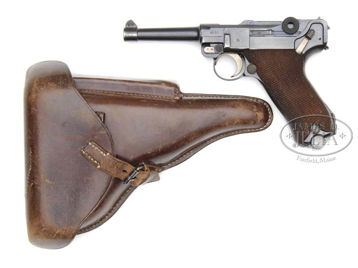 MAUSER G DATE S/42 LUGER WITH HOLSTER