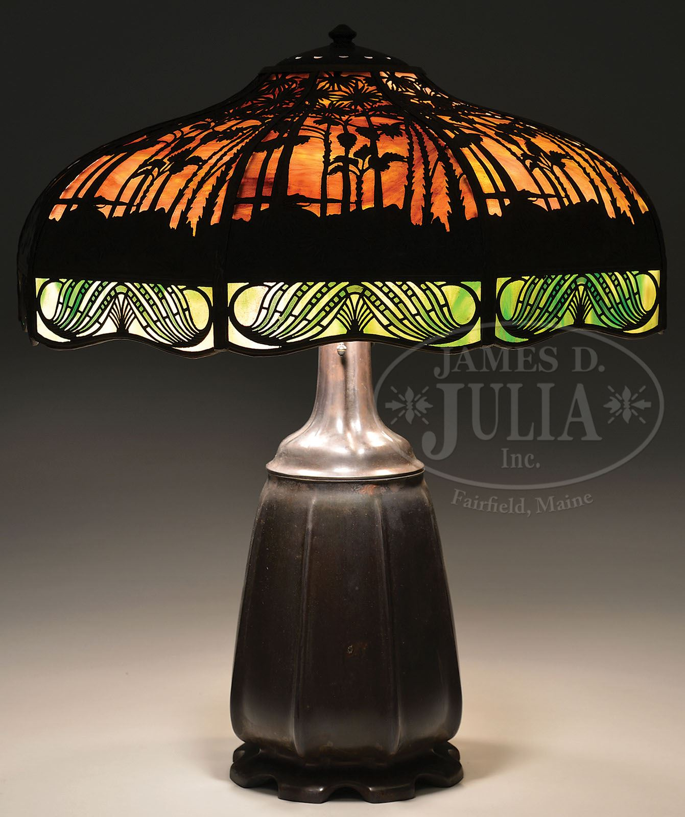 Handel hawaiian sunset table lamp mozeypictures Images
