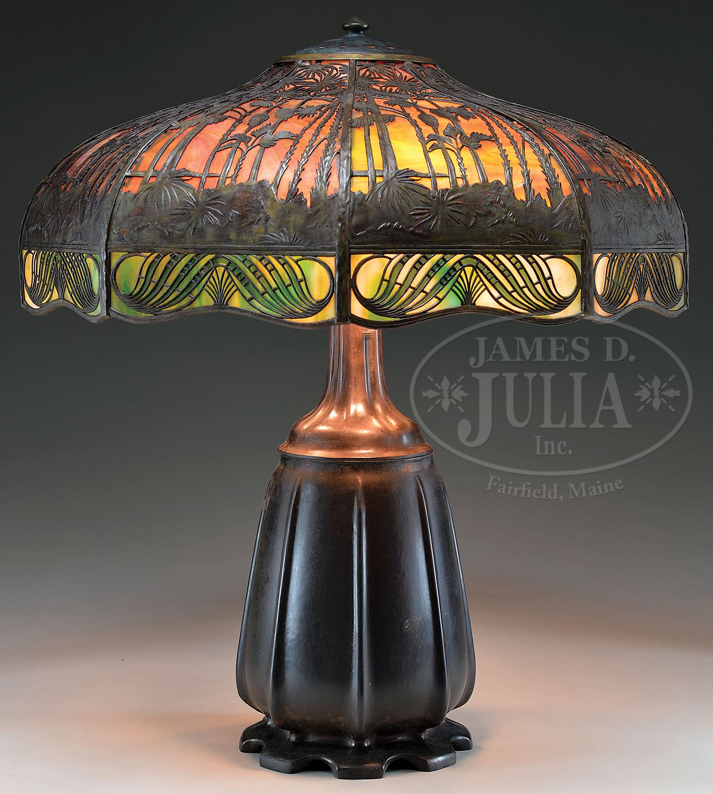 Handel hawaiian sunset table lamp zoom mozeypictures Images
