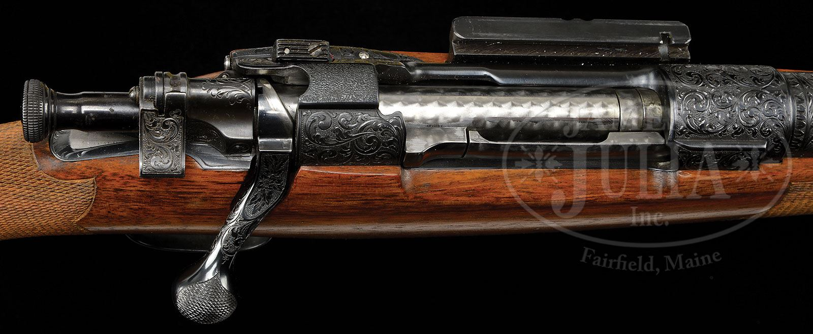 ENGRAVED AND GOLD INLAID 1903 SPRINGFIELD, MARKED R  G  OWEN