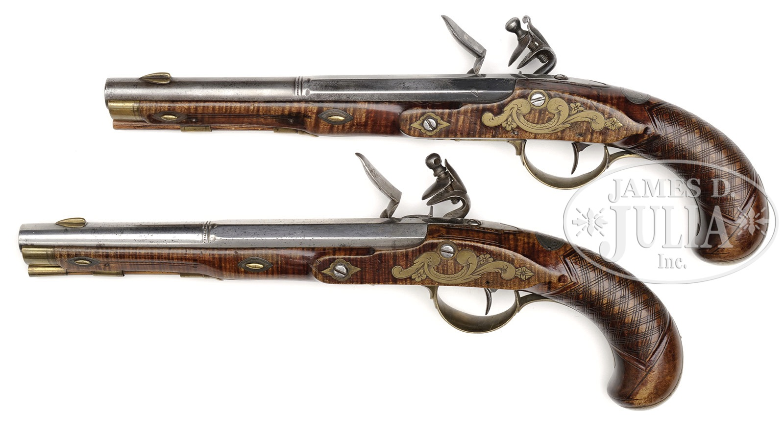 SPECTACULAR MATCHED PAIR LEHIGH COUNTY THOMAS GRUBB