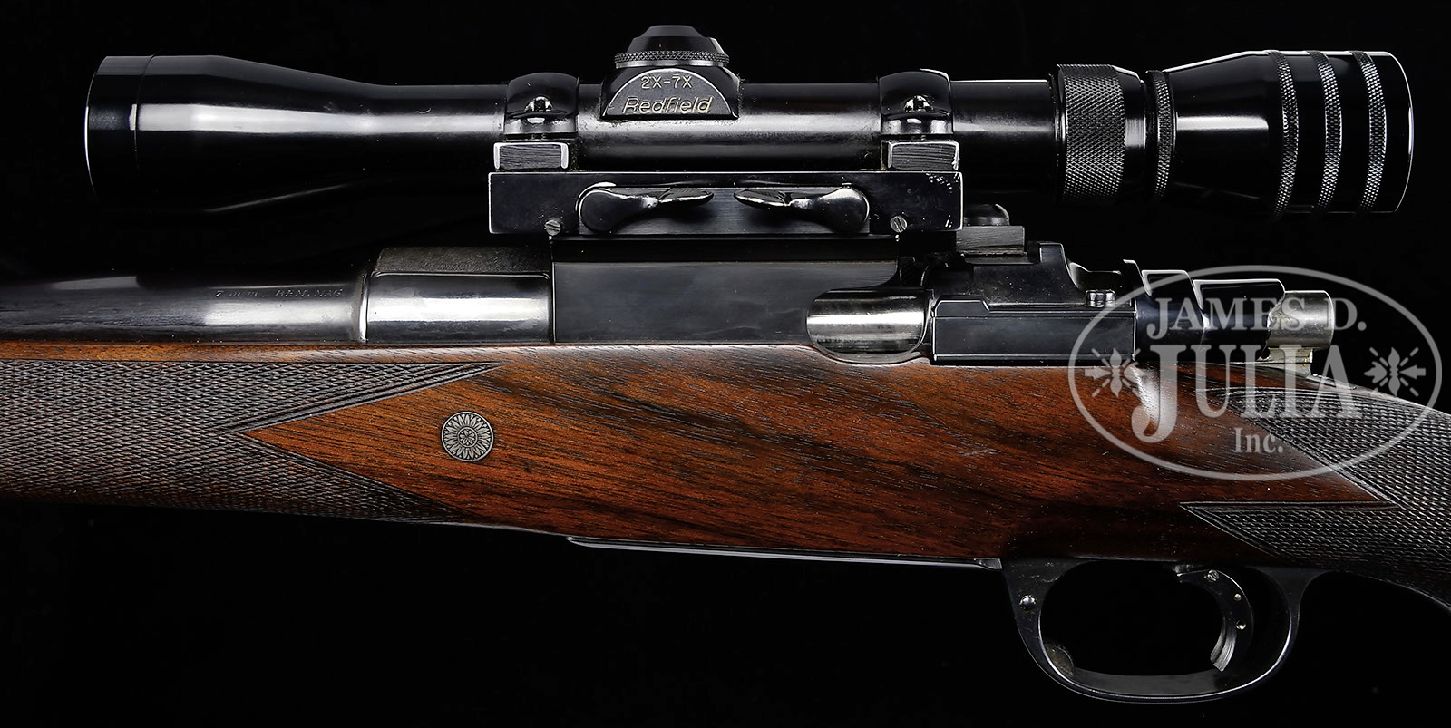 GRIFFIN & HOWE SQUARE BRIDGE MAUSER WITH SCOPE