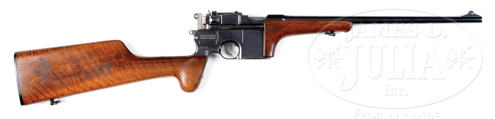 mauser c96 9mm export small ring hammer carbine with internal