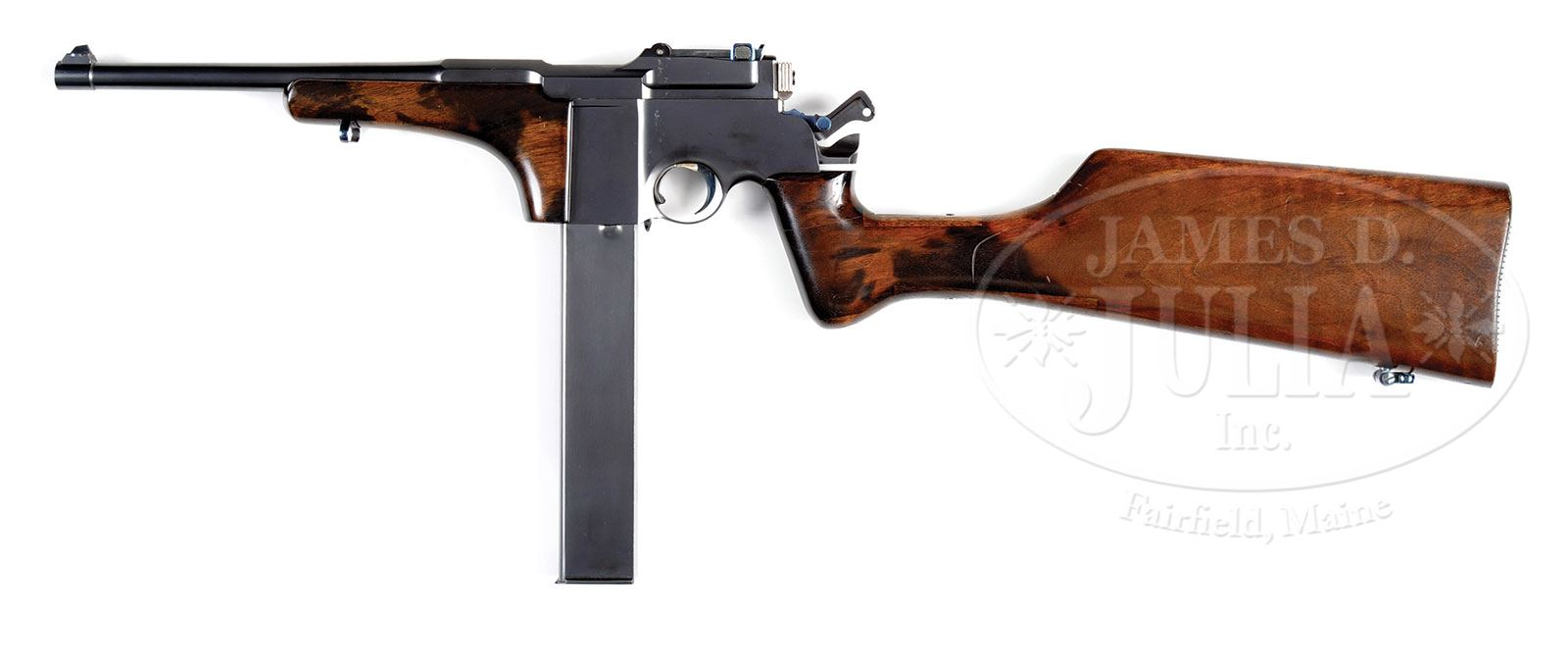 EXTRAORDINARY MAUSER M1917 TRENCH CARBINE WITH 40-SHOT DETACHABLE