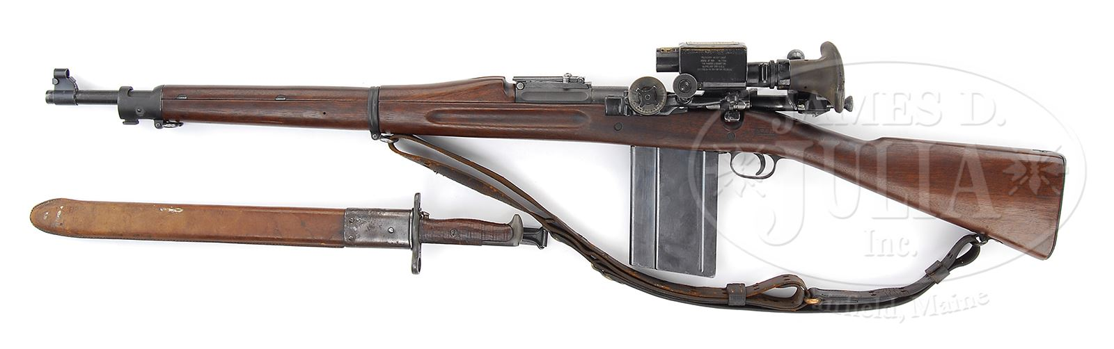 US SPRINGFIELD MODEL 1903 RIFLE WITH DETACHABLE 20 RND