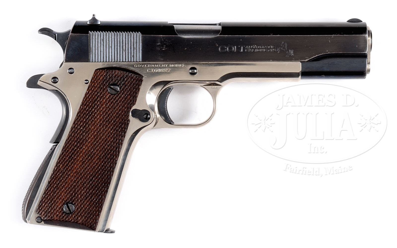 UNIQUE COLT 1911-A1 PRE-NATIONAL MATCH GOVERNMENT MODEL PISTOL WITH