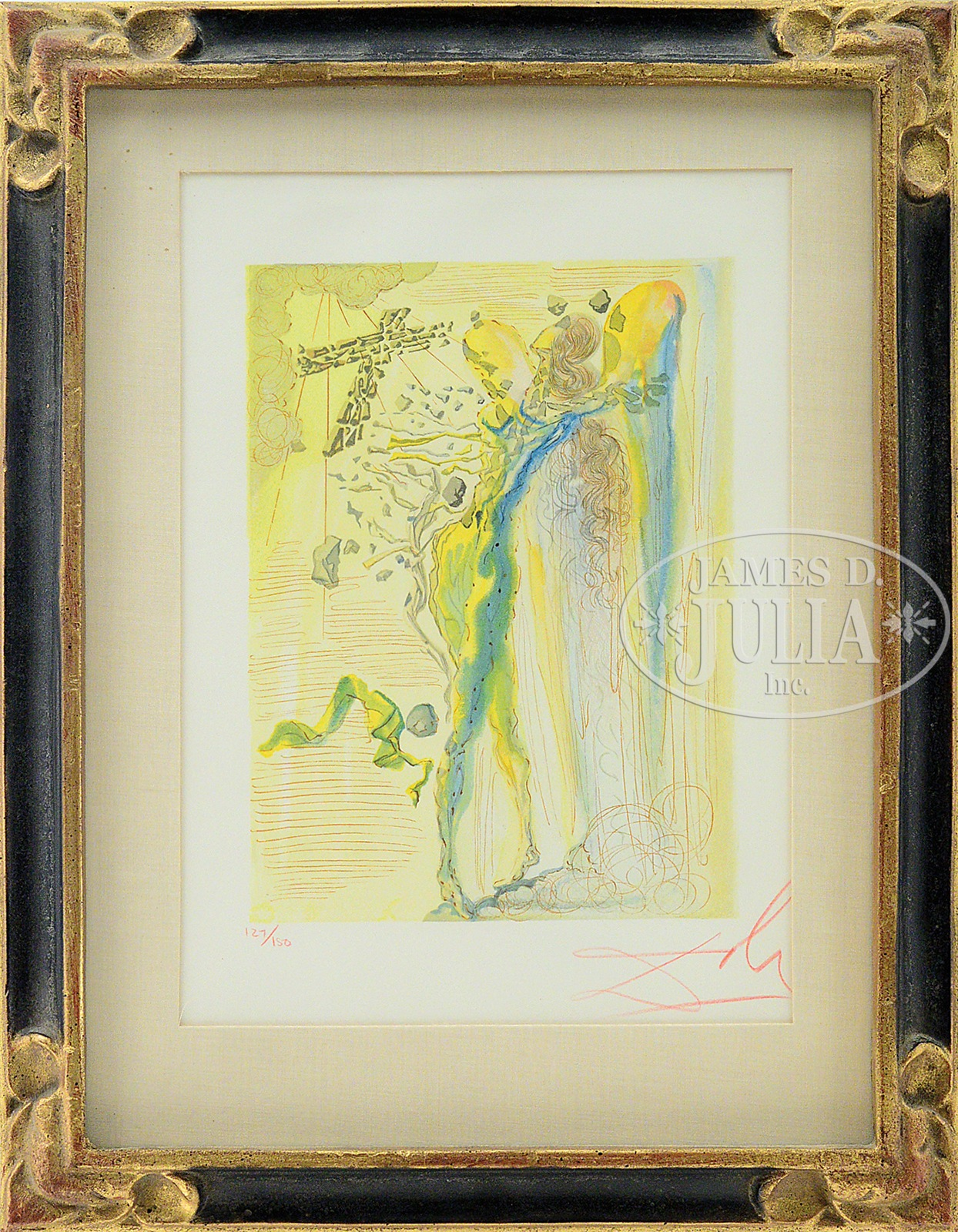 SALVADOR DALI (Spanish, 1904-1989) THREE COLOR WOOD ENGRAVINGS, FROM ...