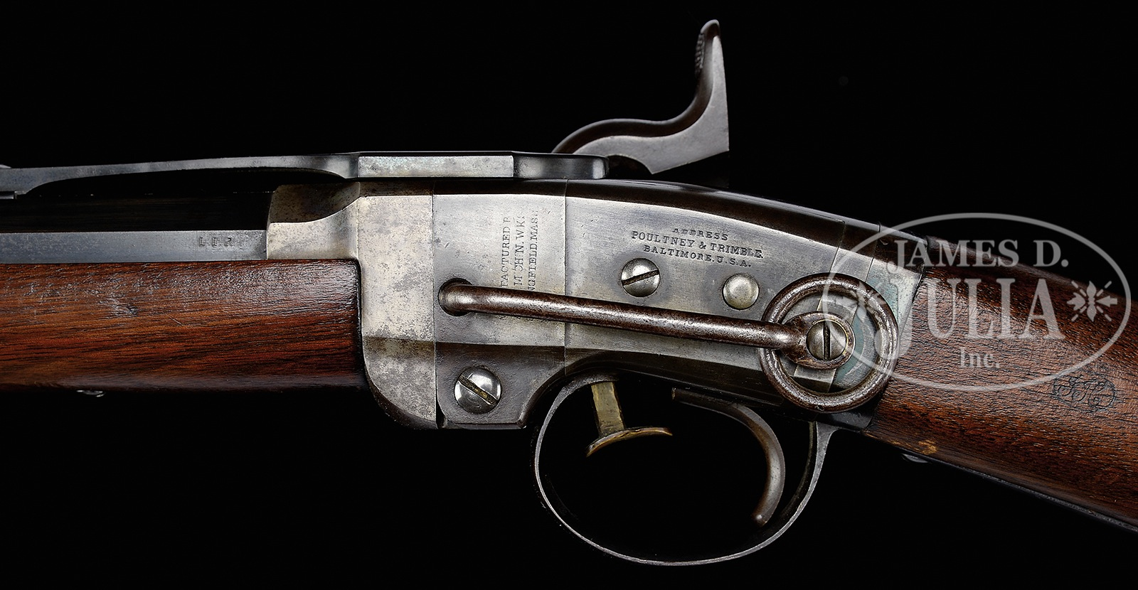 EXTREMELY FINE CIVIL WAR SMITH CARBINE WITH A NAVY