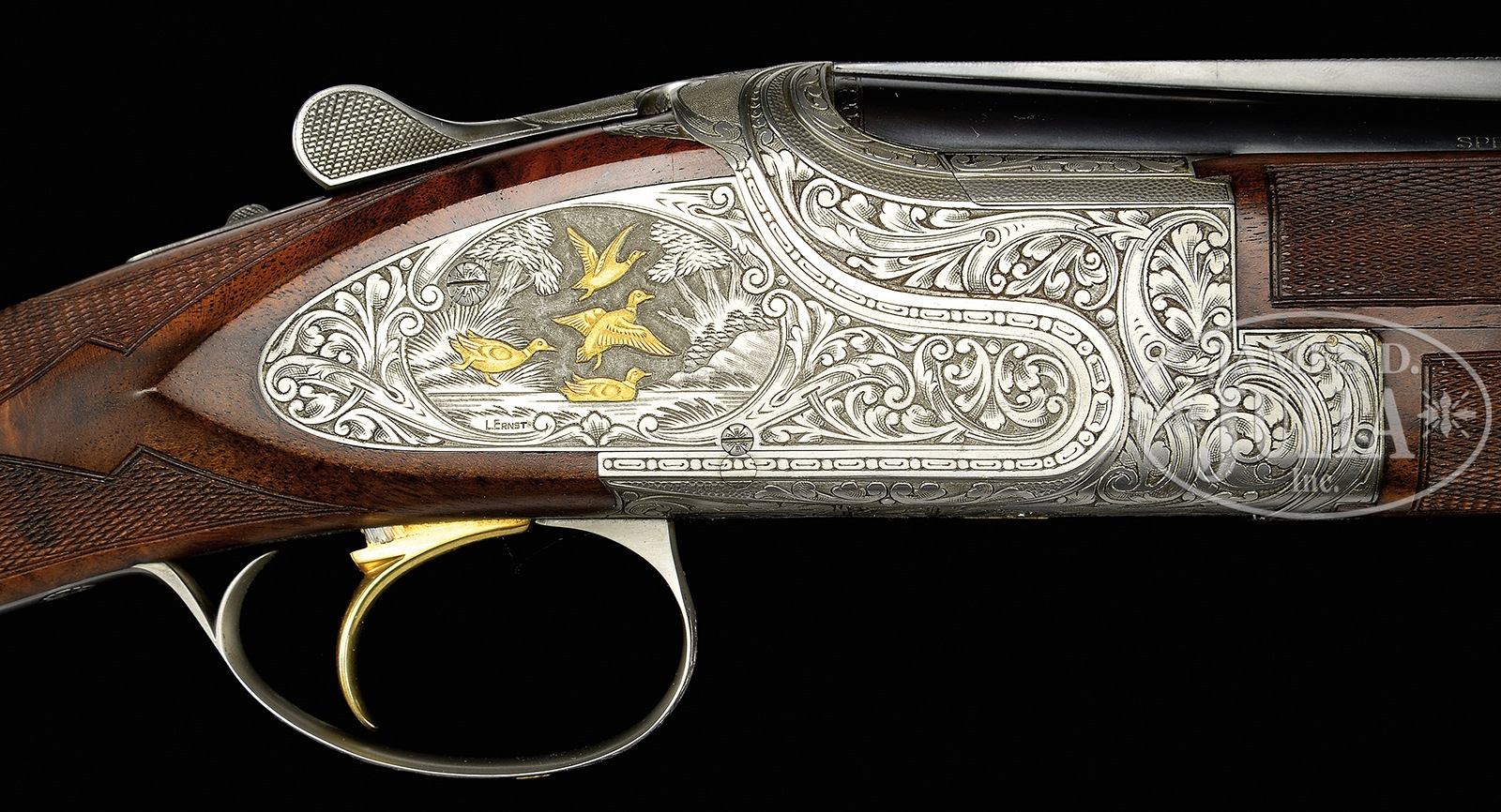 RARE  410 BROWNING SUPERPOSED PRESENTATION P4W SUPERLIGHT