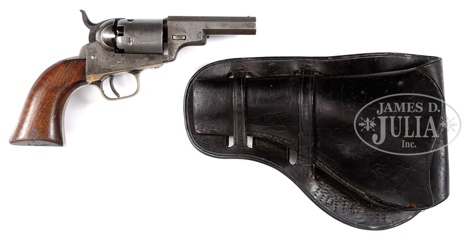 "COLT MODEL 1849 POCKET REVOLVER ""WELLS FARGO"" VARIATION WITH"