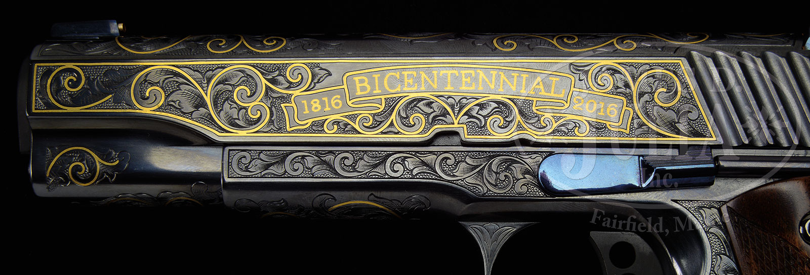 TRULY SPECTACULAR REMINGTON BICENTENNIAL THREE GUN SET