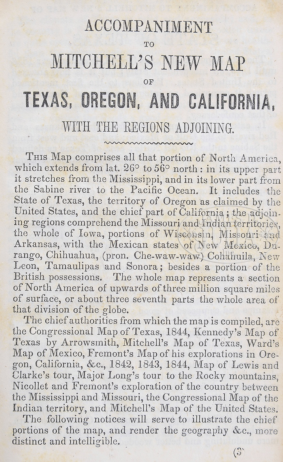 Rare And Fine 1st Edition Folding Pocket Map Of Texas Oregon And