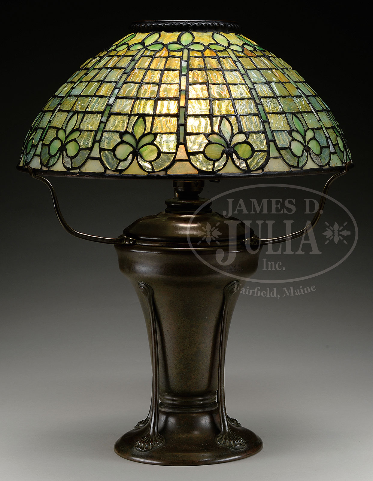 Tiffany studios fleur de lis table lamp aloadofball Choice Image