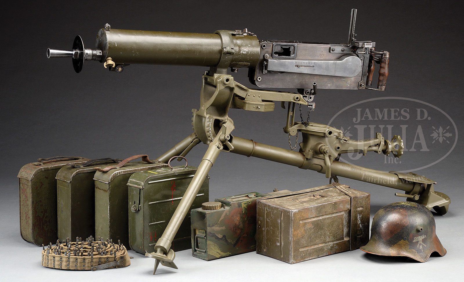 SHOOTER'S DREAM DWM MG-08 MAXIM MACHINE GUN AS REGISTERED BY