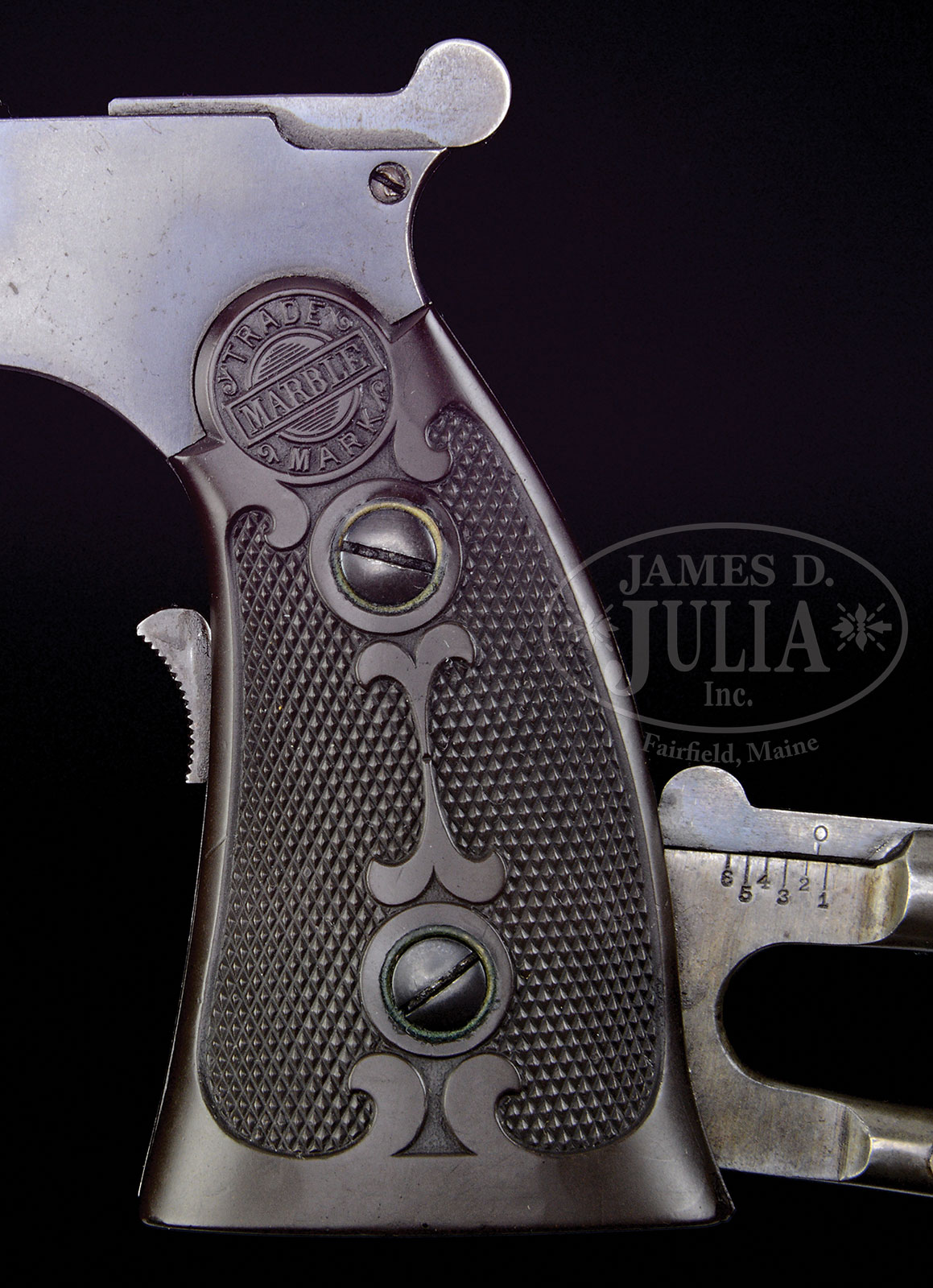 """EXTREMELY FINE MARBLES MODEL 1908 GAME GETTER (NFA """"ANY"""
