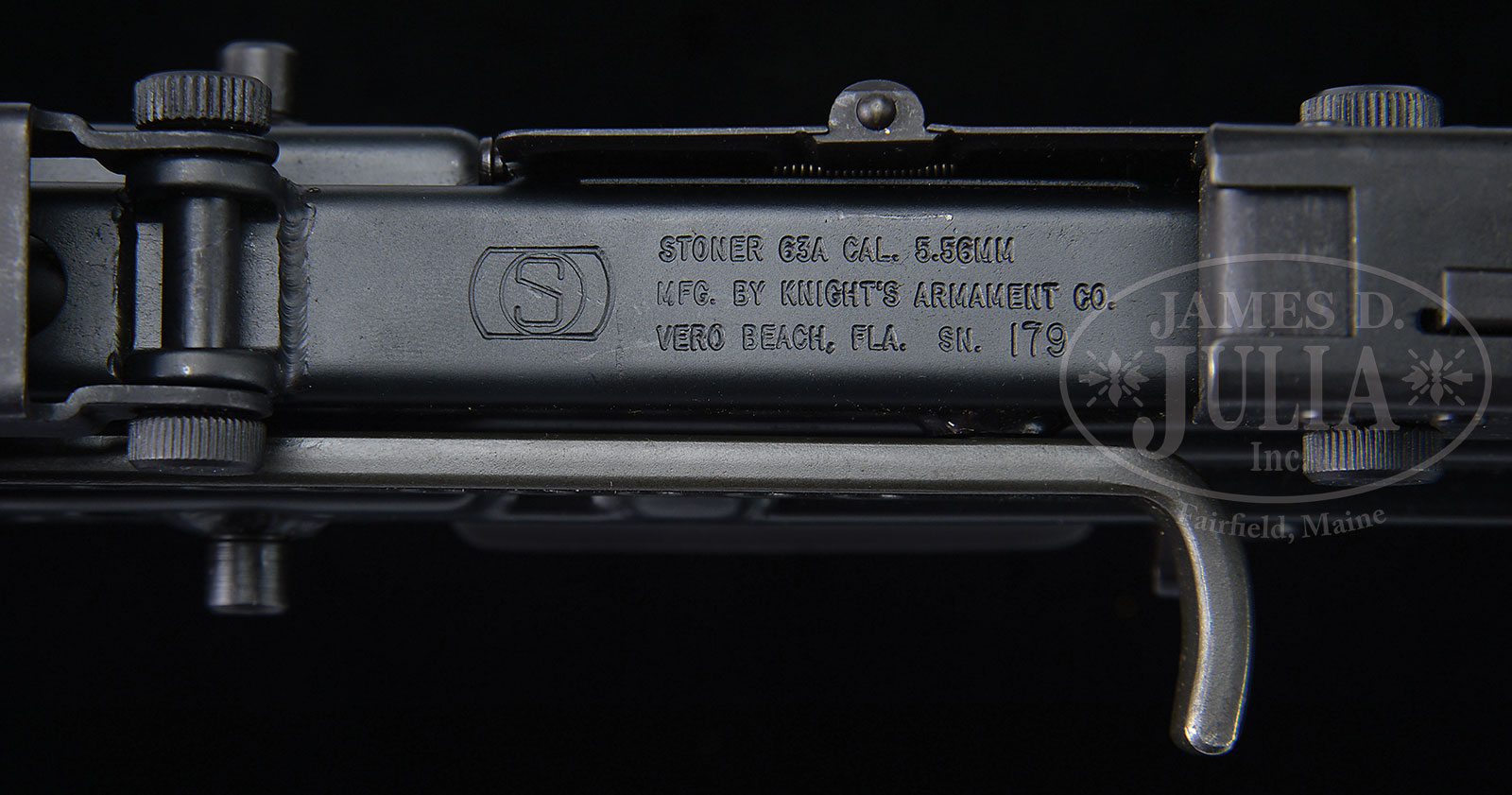 Exceedingly scarce knights armament company stoner 63a with top zoom altavistaventures Choice Image