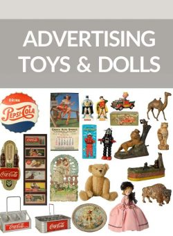 Toy, Doll & Advertising