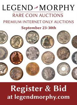 September PIOA Coin Auction