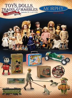 Toys, Marbles, Dolls, Trains