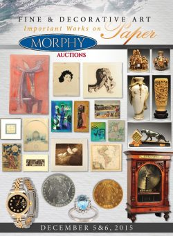 Fine and Decorative Art and Important Works on Paper