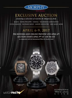 IWJG Exclusive Watch Auction
