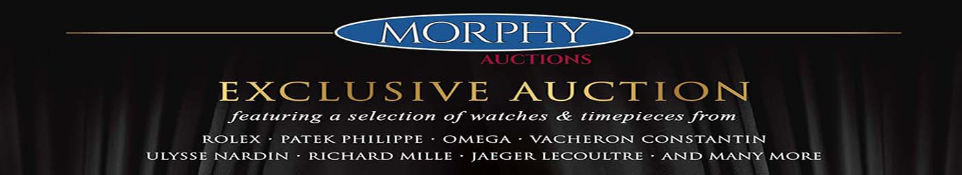 Morphy Auctions - IWJG Exclusive Watch Auction