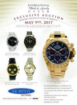 Exclusive IWJG Watch & Timepiece
